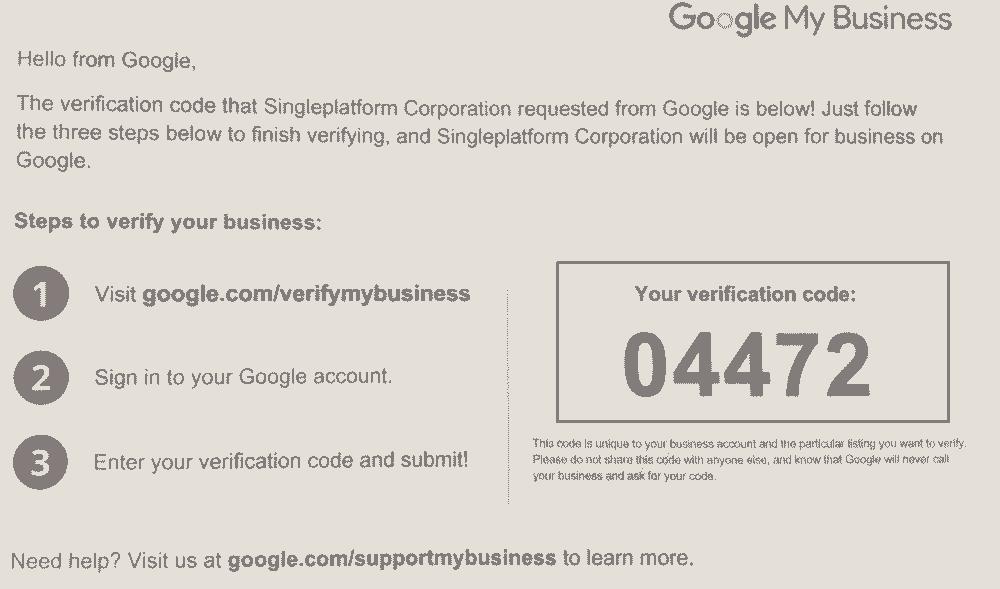 google business postcard