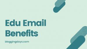 edu email benefits