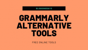 grammarly alternative tools