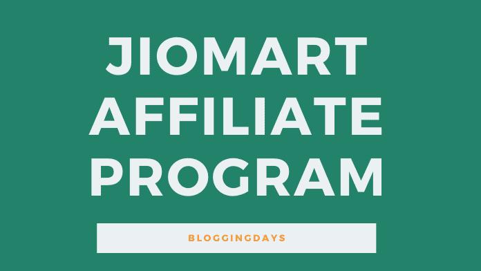 jiomart affiliate program