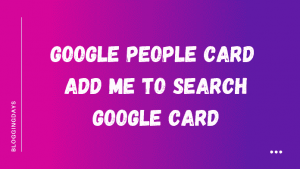 add me to search card