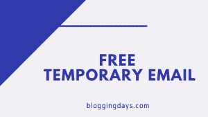 free temporary email
