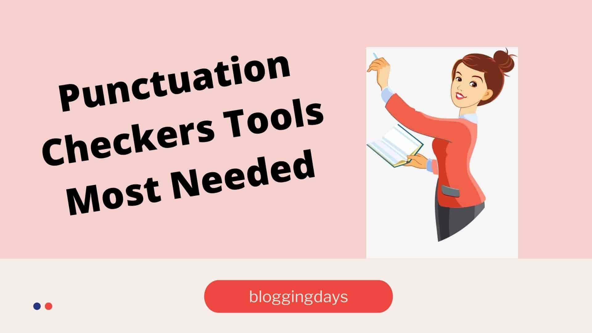 Free Punctuation checker