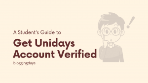 unidays account verification