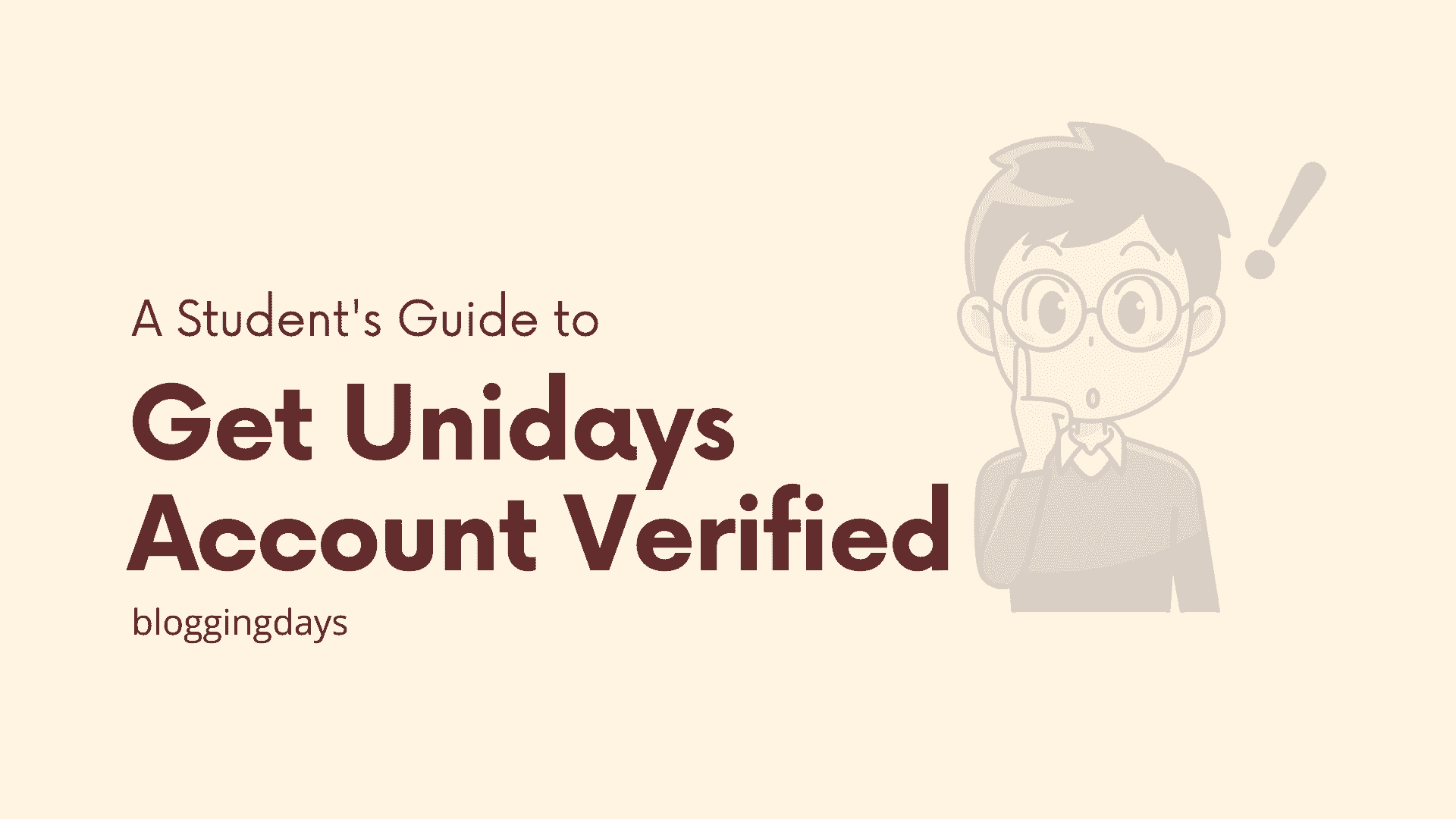 unidays account verification